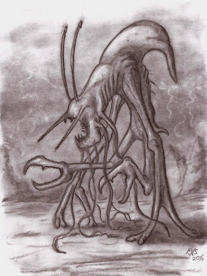 Creature from a Rogue Planet (Concept) by Qodaet