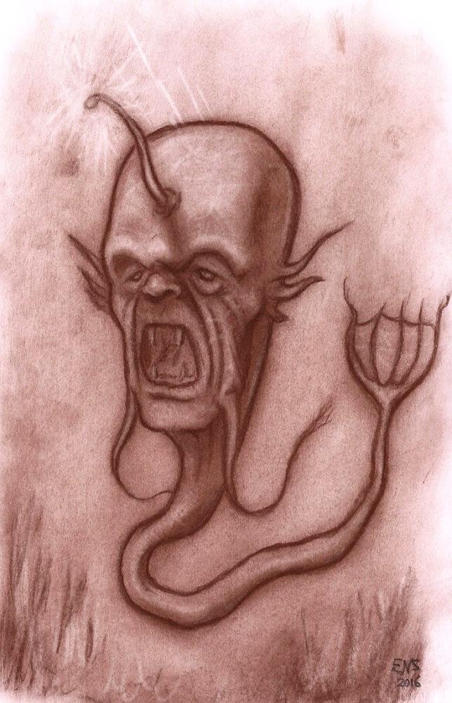 Deep Sea Abomination by Qodaet