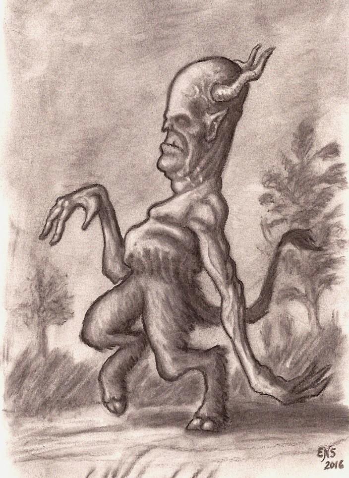 Walking Creature by Qodaet