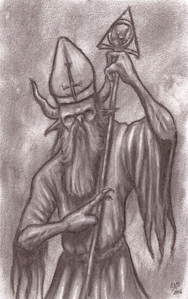 Hell Bishop by Qodaet