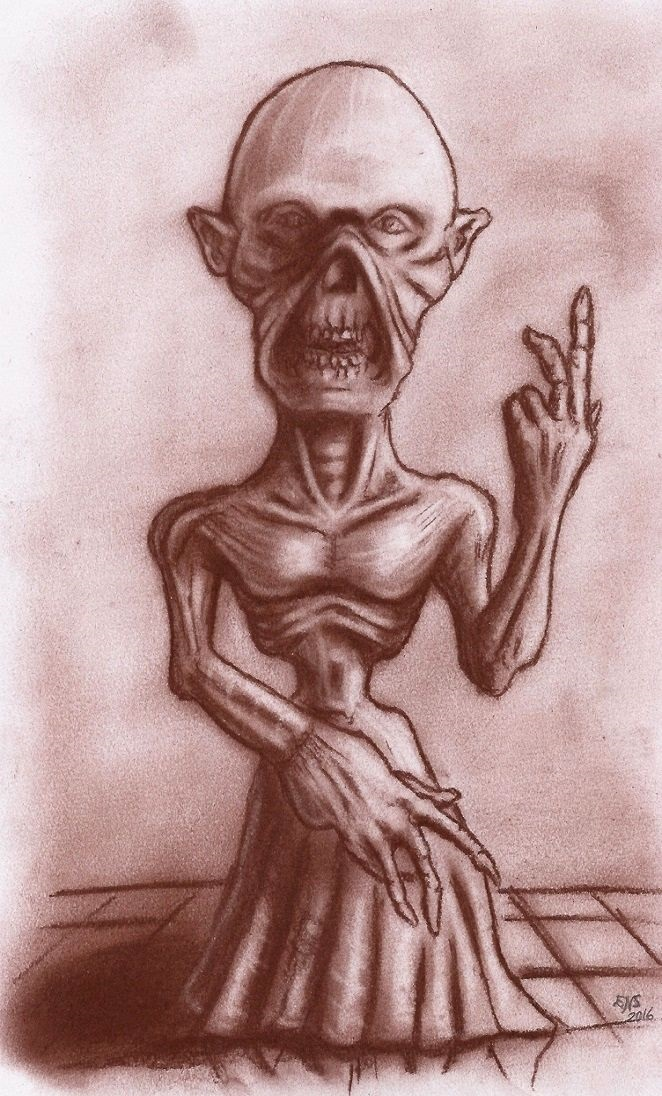 Abomination II by Qodaet