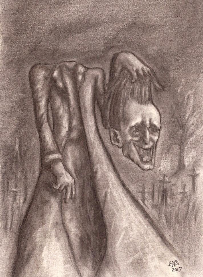 Cabeca Satanica by Qodaet