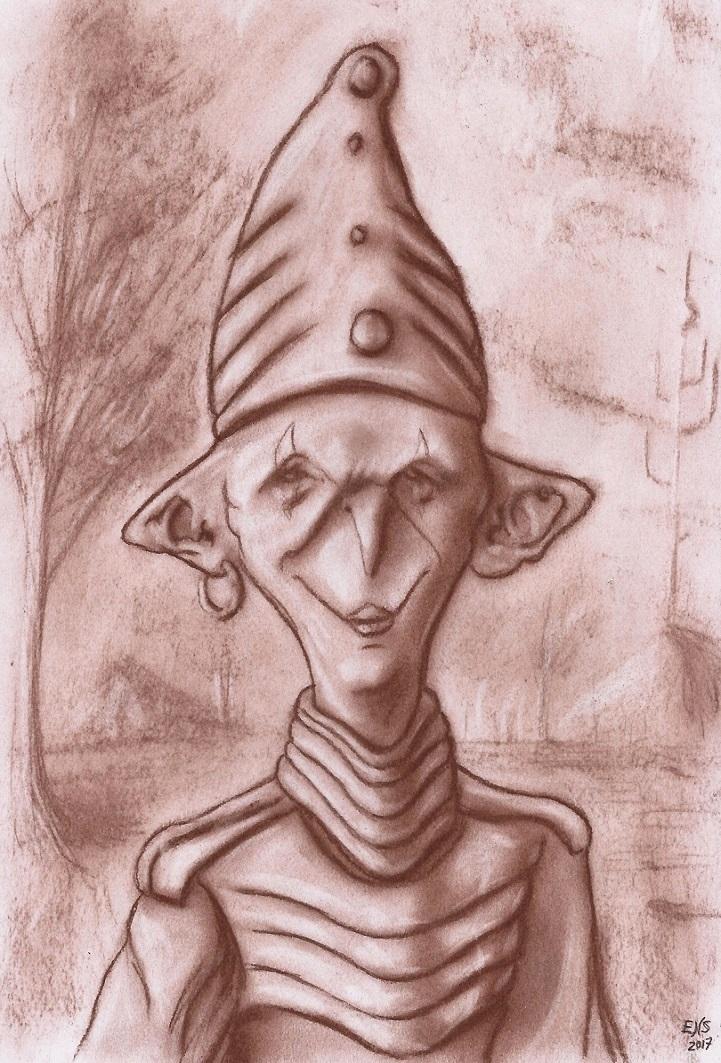 Strange Entity by Qodaet