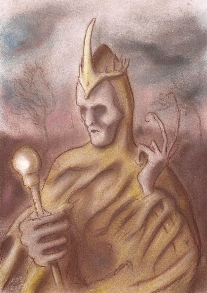 The King in Yellow by Qodaet