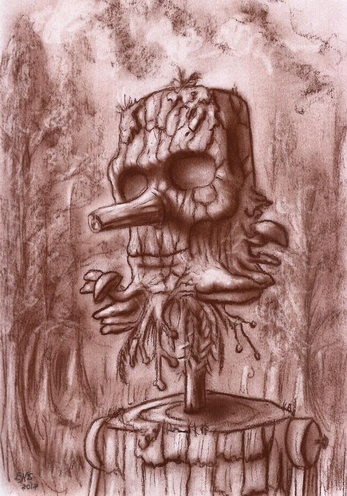 Wooden Man II by Qodaet