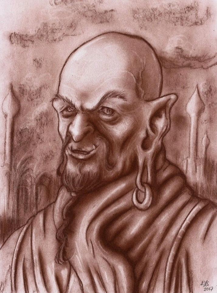 Portrait of a Genie by Qodaet