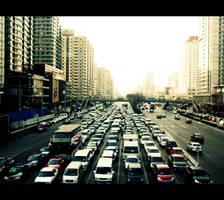 traffic by RiparianVeins