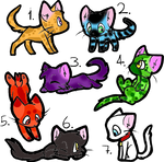 Adoptables!!!(Only three left!)