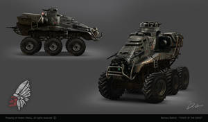 CHIEF OF THE DEAD - apocalyptic vehicle concept