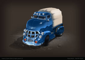Delivery truck concept by bartekgraf