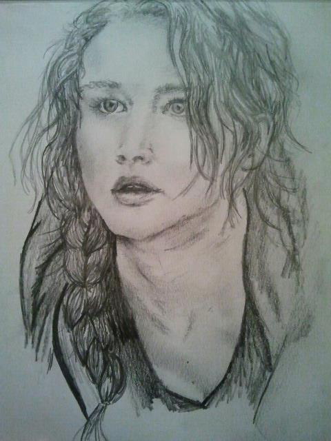 Katniss Everdeen by holybell07