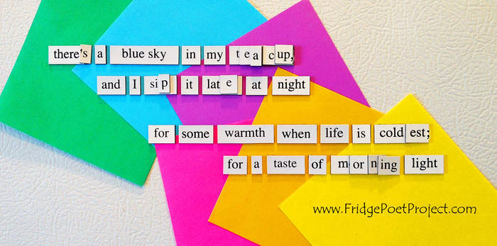 The Daily Magnet #257 by FridgePoetProject