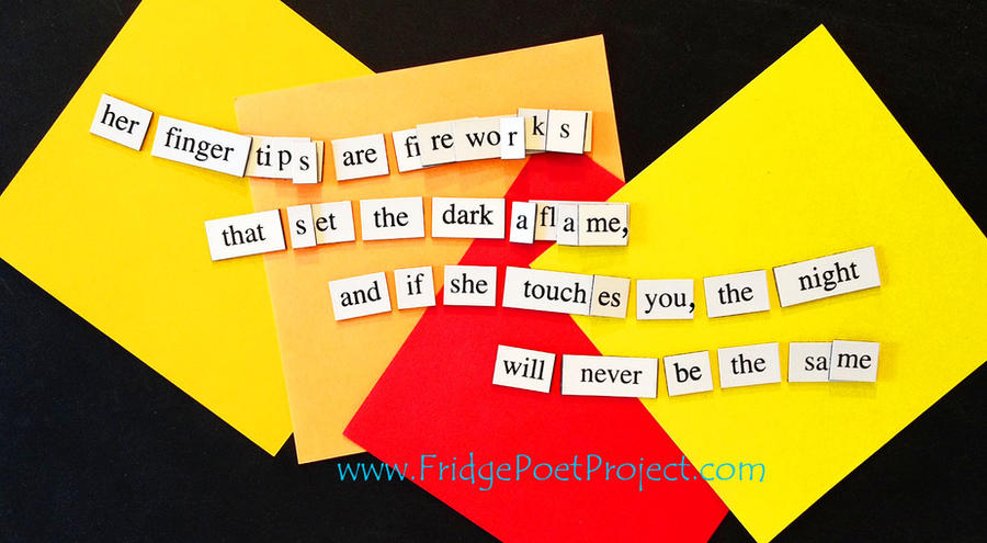 The Daily Magnet #321 by FridgePoetProject
