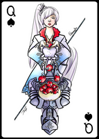 Queen of Team RWBY by ESCanime