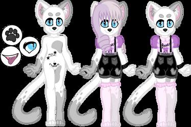 Pastel Goth Cat OTA by CutieStyle