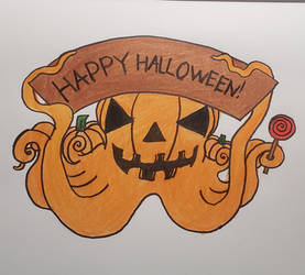 Octopusber day 31: Halloween