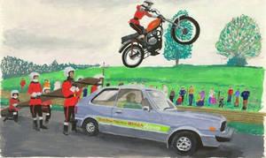 Honda Car Jump