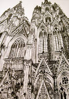 Cologne Cathedral by omnomnoms