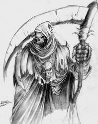 The Grim Reaper by majincool