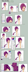 How I colour Hair: Tutorial by Bunni-Hime