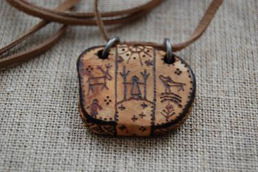 shaman-bird pendant 2