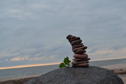 falling stones