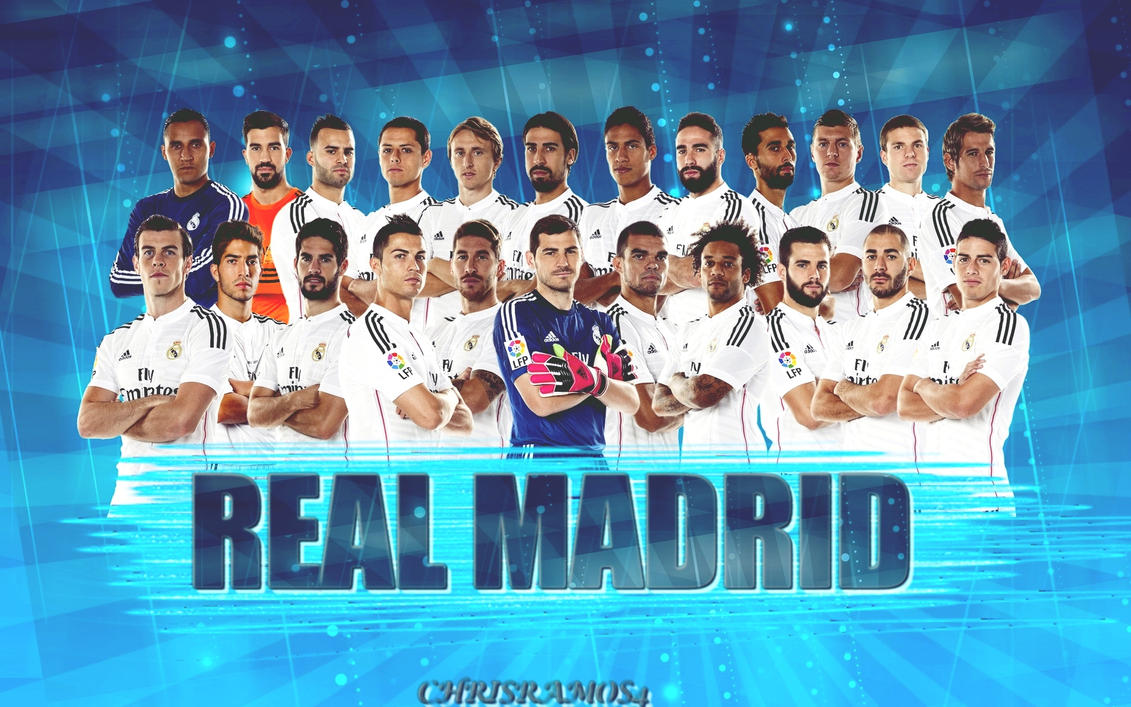 Real Madrid Wallpaper 2014 15 By ChrisRamos4 On DeviantArt
