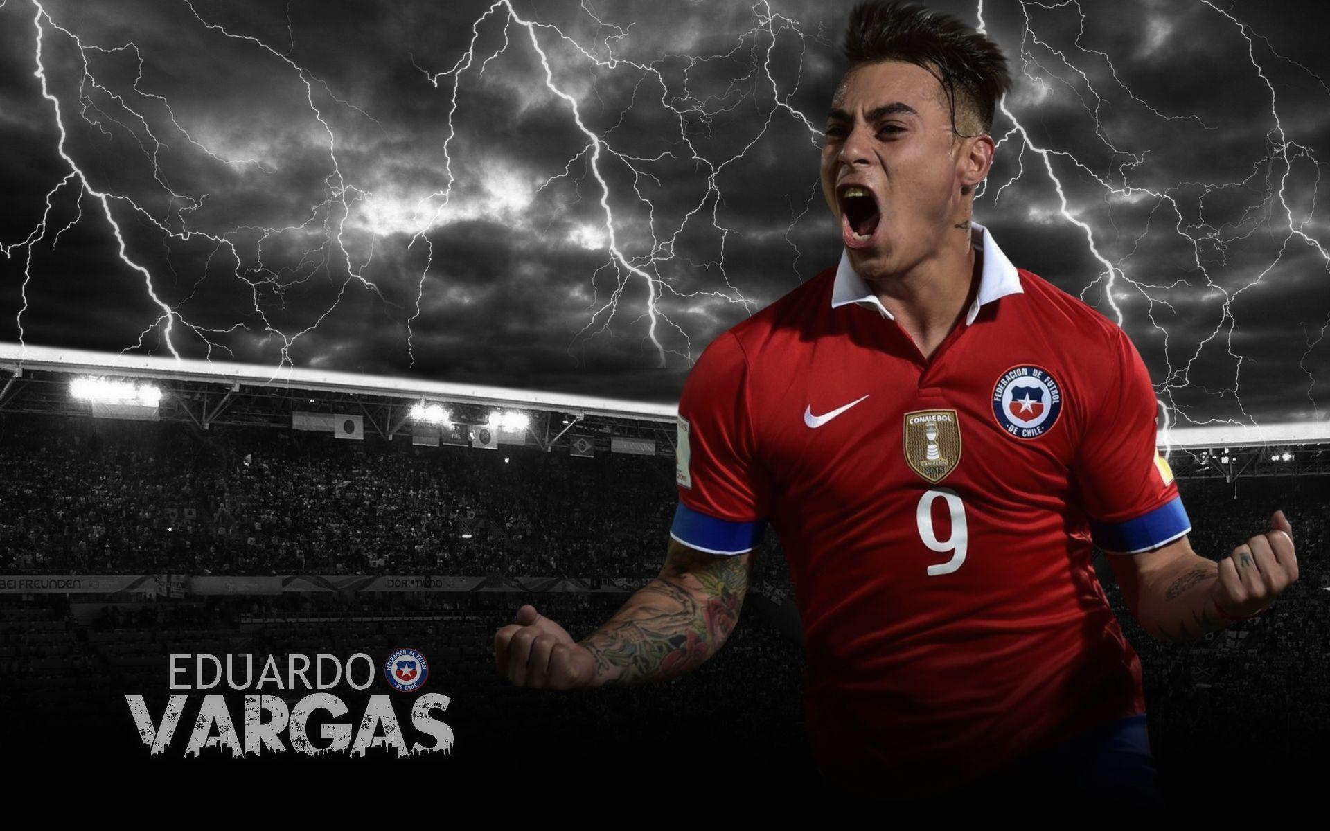 Eduardo Vargas Wallpaper 2015-16 (CHILE) By ChrisRamos4 On
