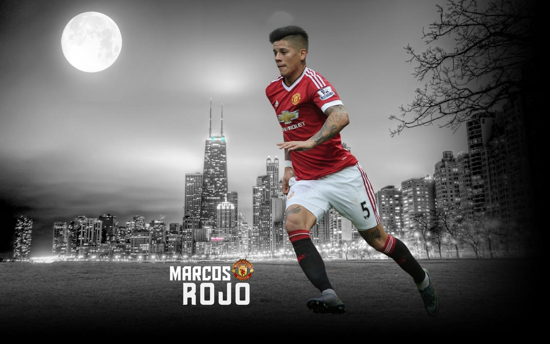 Marcos Rojo Wallpaper 2015/16 By ChrisRamos4GFX On DeviantArt
