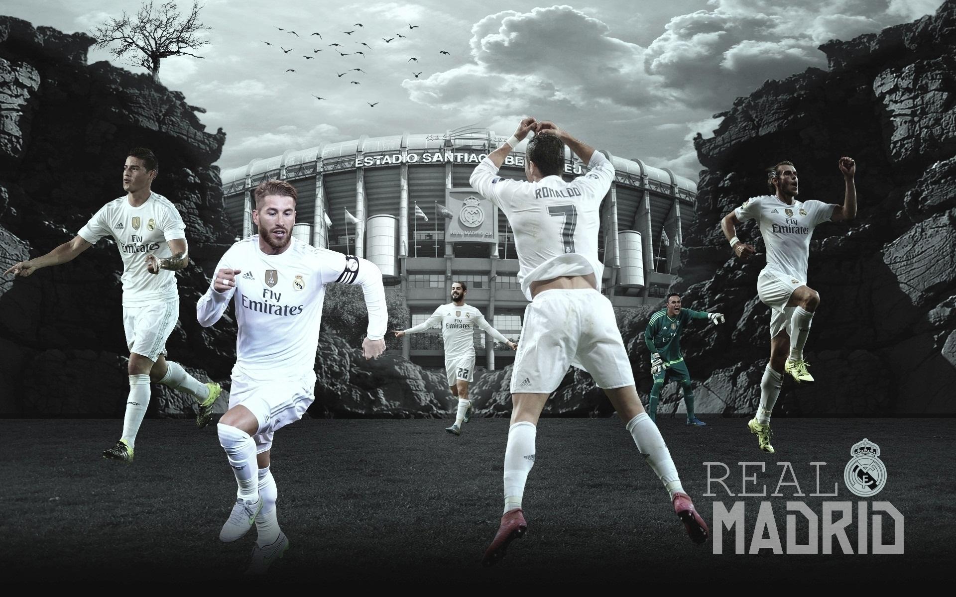 Real Madrid Wallpaper 2015 16 By Chrisramos4gfx On Deviantart