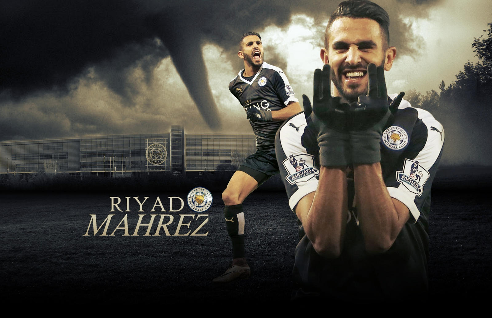 Riyad Mahrez Wallpaper 2015/16 By ChrisRamos4 On DeviantArt