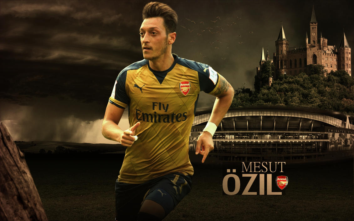 Mesut Ozil Wallpaper 2015-16 By ChrisRamos4GFX On DeviantArt