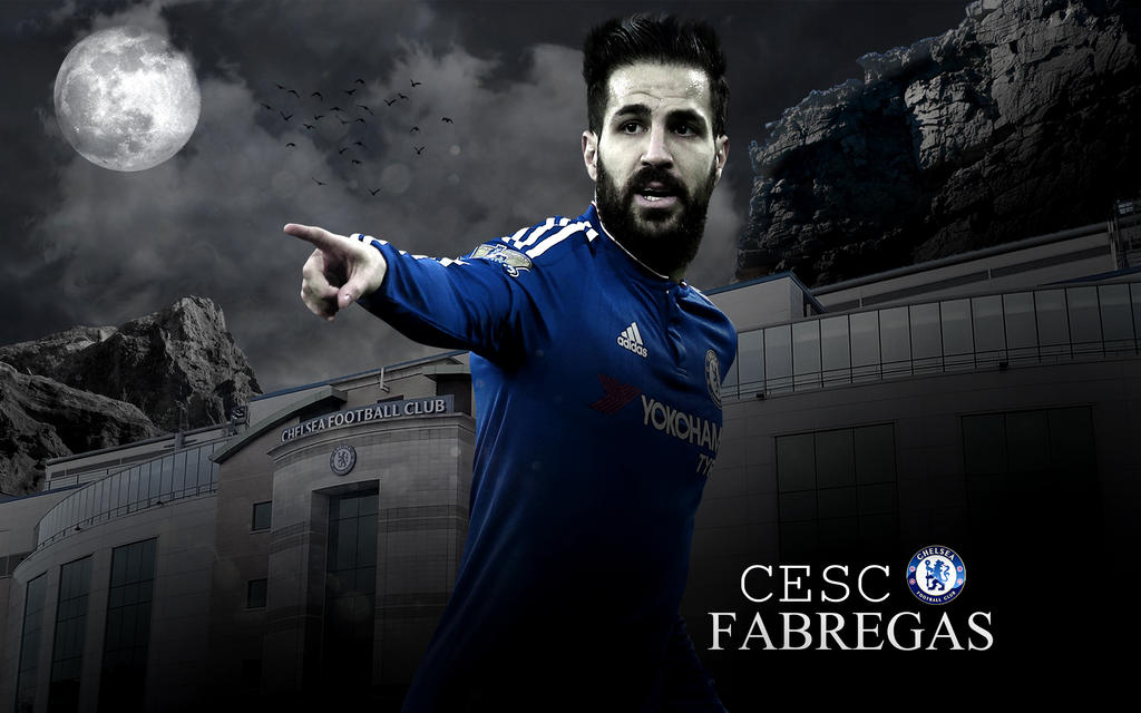 Cesc Fabregas 2015/16 Wallpaper by ChrisRamos4 on DeviantArt