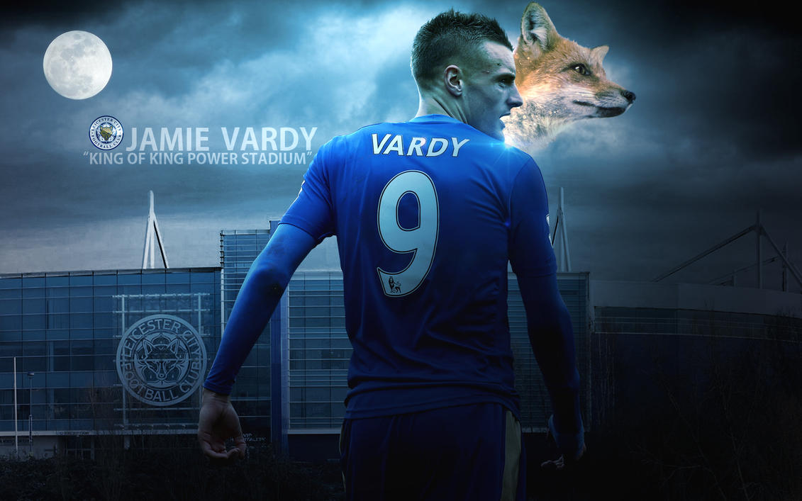 Jamie Vardy 2015/16 Wallpaper By ChrisRamos4 On DeviantArt