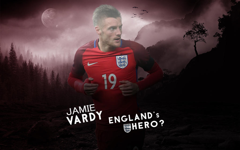 Jamie Vardy 2015/16 Wallpaper