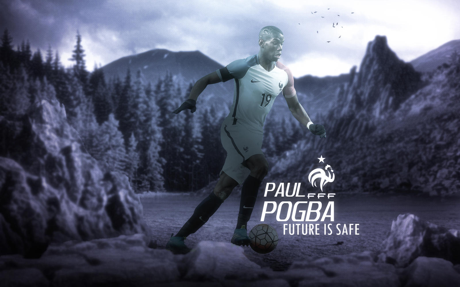 Paul Pogba 2015/16 Wallpaper