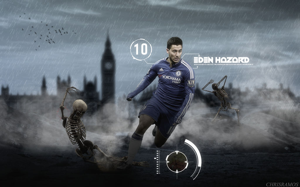 Eden Hazard 2015/16 Wallpaper by ChrisRamos4 on DeviantArt