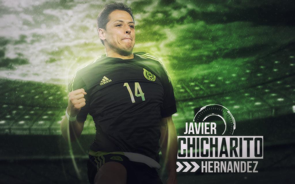 Chicharito Hernandez 2016/17 Wallpaper (MEXICO) By