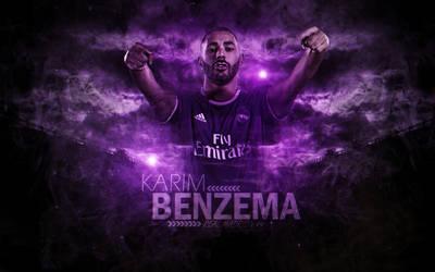 Karim Benzema 2016-17 Wallpaper by ChrisRamos4GFX