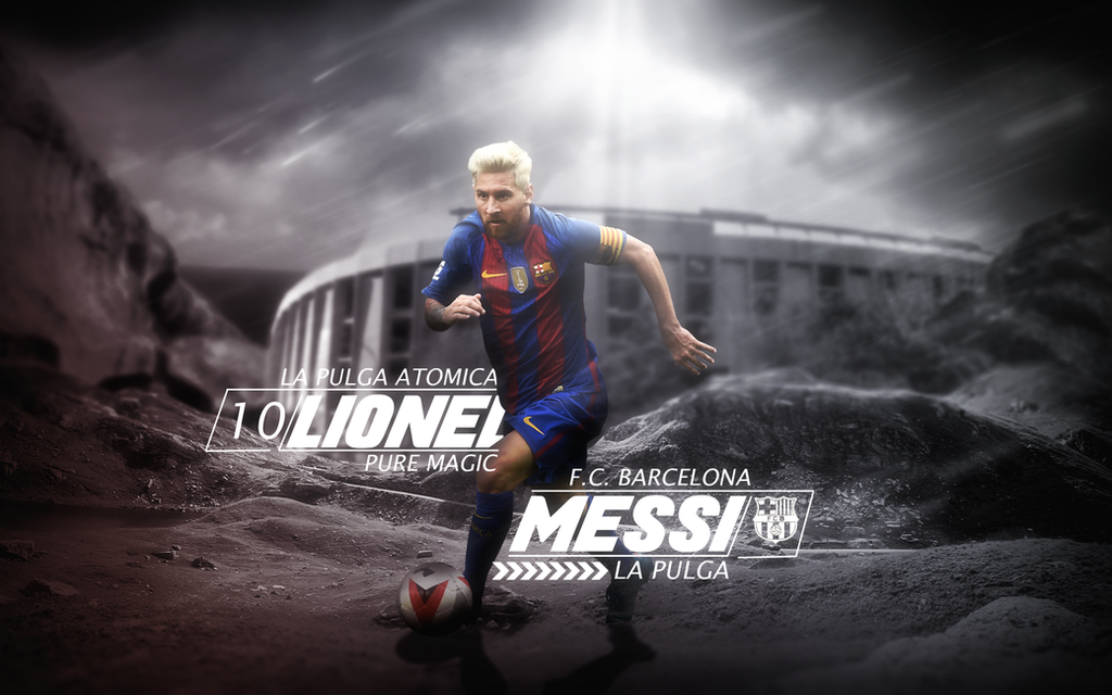 Lionel Messi 2016 17 Wallpaper By ChrisRamos4