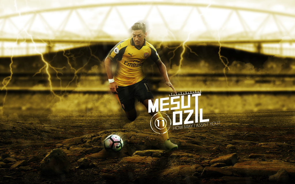Mesut Ozil 2016/17 Wallpaper By ChrisRamos4GFX On DeviantArt