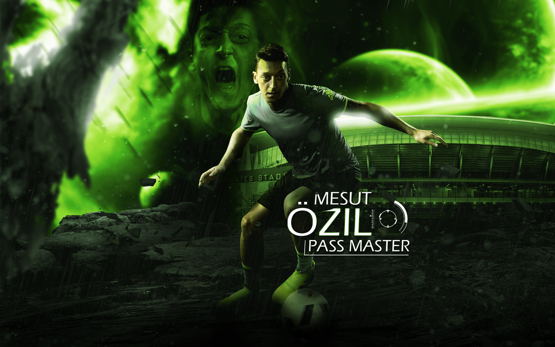 Mesut Ozil 2016/17 Wallpaper By ChrisRamos4GFX On DeviantArt