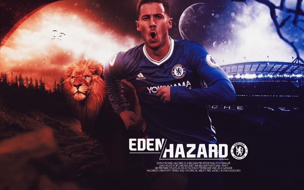 Eden Hazard 2016/17 Wallpaper By ChrisRamos4GFX On DeviantArt