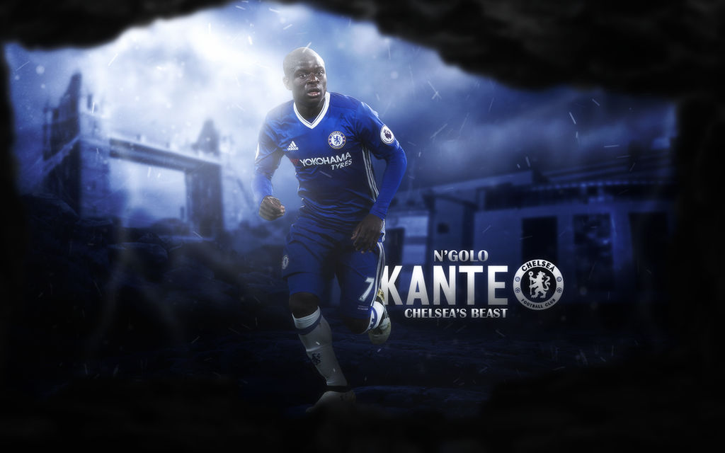 N'golo Kante 2016/17 Wallpaper By ChrisRamos4GFX On DeviantArt