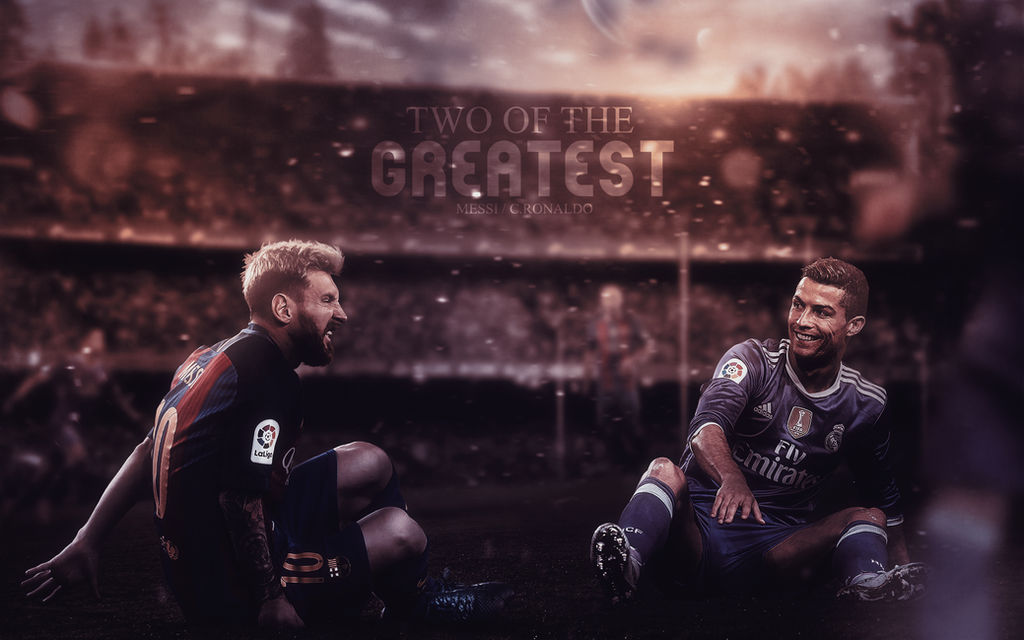 Cristiano Ronaldo and Lionel Messi Wallpaper by