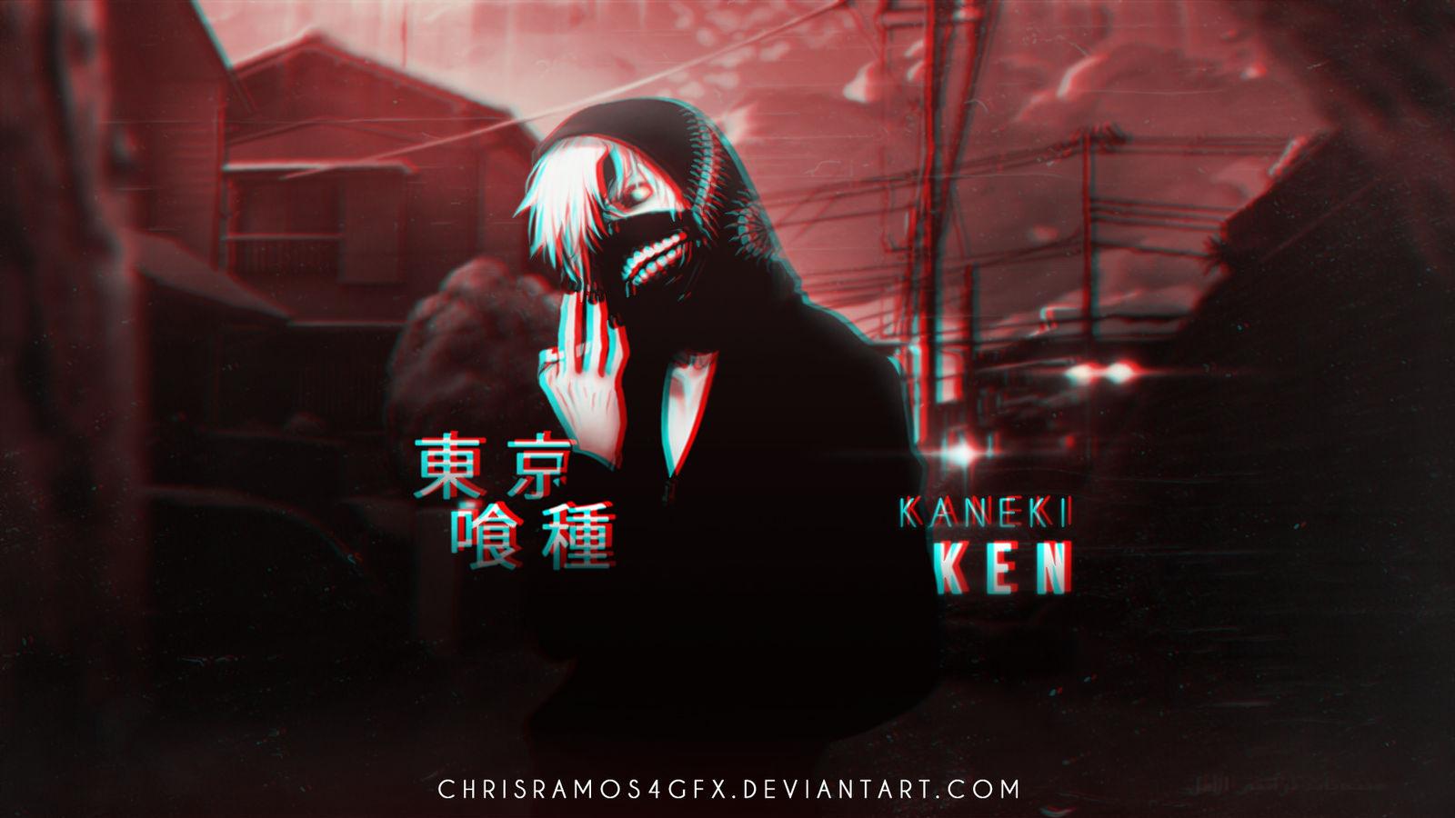 Kaneki Ken |Tokyo Ghoul| Wallpaper by ChrisRamos4GFX on