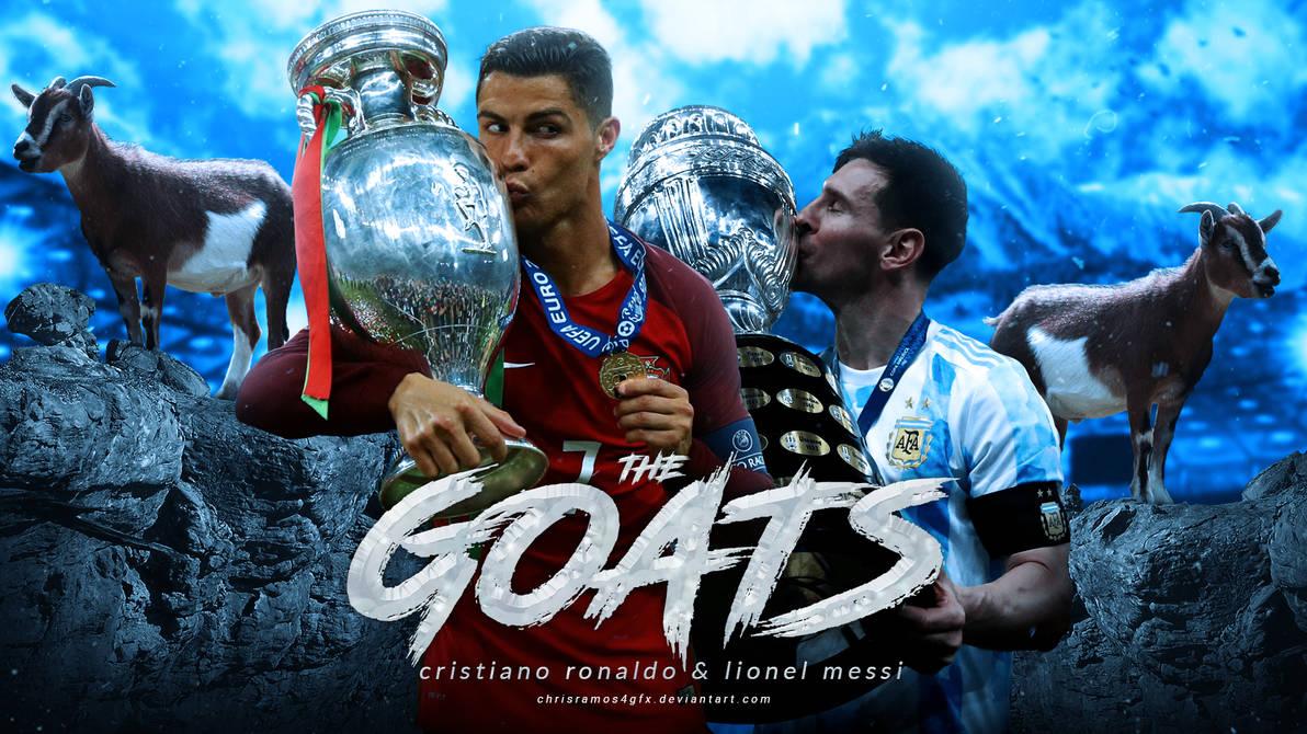 Cristiano Ronaldo and Lionel Messi Wallpaper
