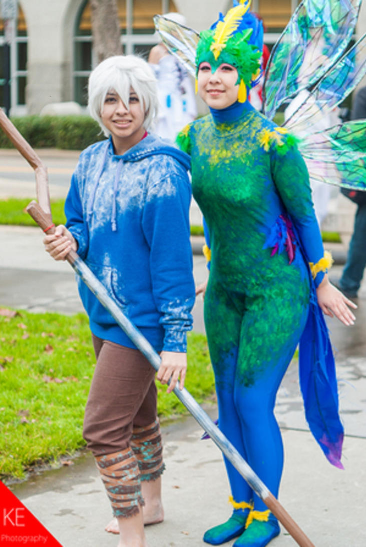 Jack Frost and Tooth Fairy by KuroNekoYana on DeviantArt Rise Of The Guardians Cosplay