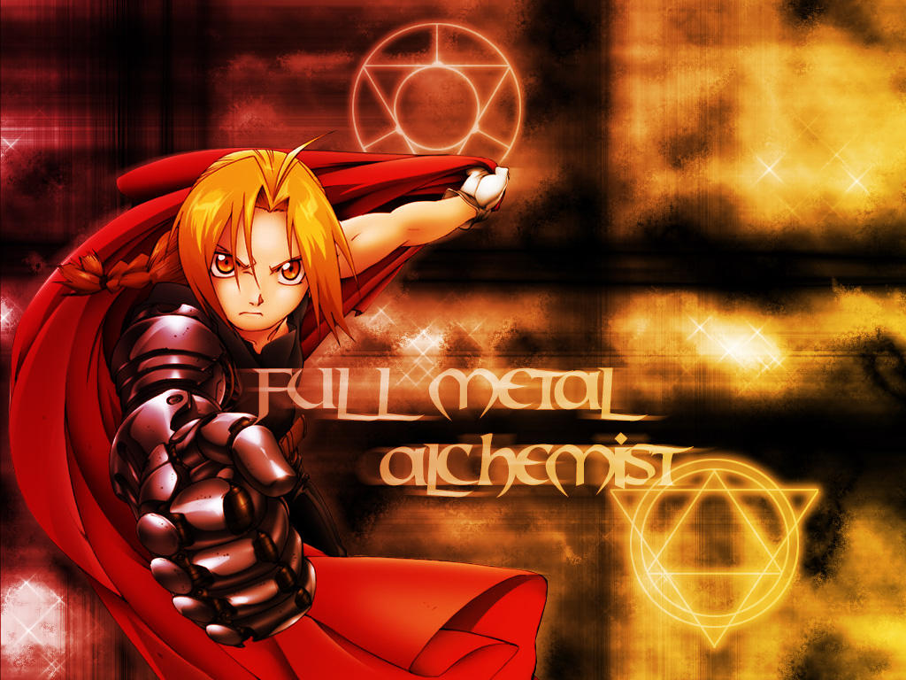 FMA Wallpaper by ShadowBee