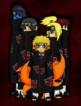 Akatsuki Naruto Colored